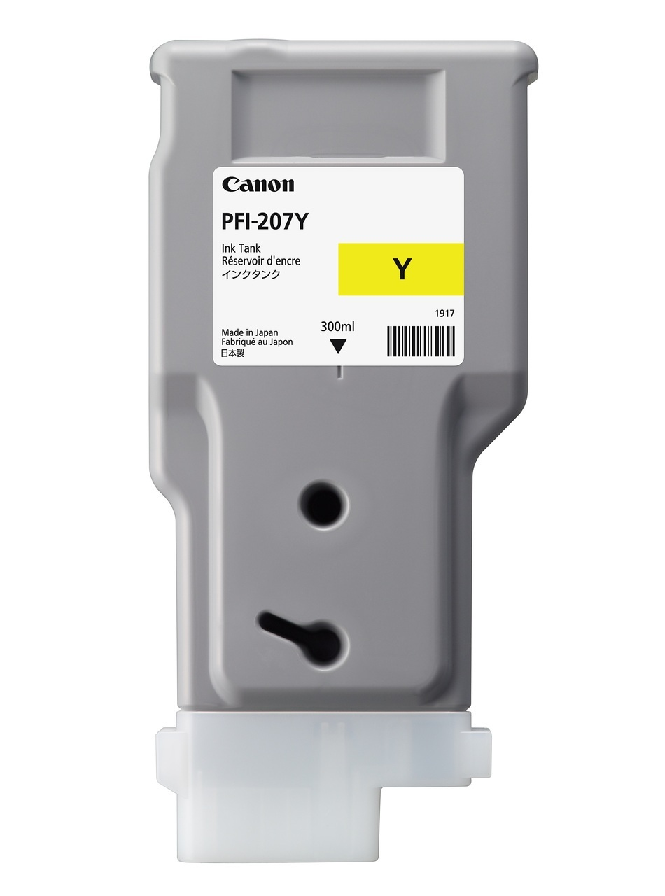 CANON IPF 780 - 207Y Yellow Ink Cartridge